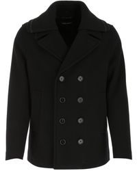 Dolce & Gabbana Double-breasted Peacoat - Black