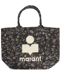 Isabel Marant Yenky Tote Bag - Black