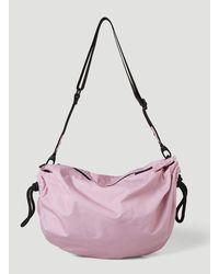 Ganni Recycled Drawstring Shoulder Bag - Pink
