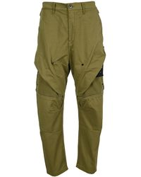 Stone Island Shadow Project Cargo Trousers - It48 / Green