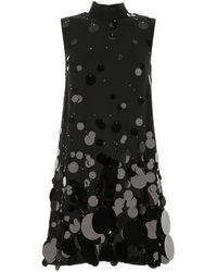 Prada Sequinned Dress - Black