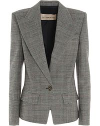 Alexandre Vauthier - Prince Of Wales Blazer - Lyst
