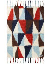 Jil Sander Graphic Pattern Blanket Scarf - Multicolor