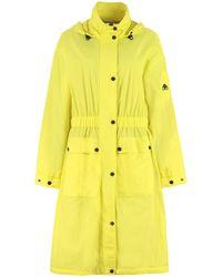 Moose Knuckles Acceptance Anorak Coat - Yellow