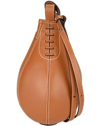 JW Anderson Small Punch Bag - Brown