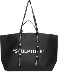 Off-White c/o Virgil Abloh Commercial Tote Bag - Black