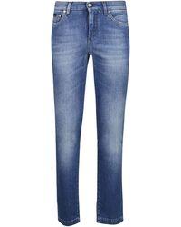 Dolce & Gabbana Skinny Jeans - Blue