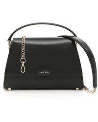 Lanvin - Mini Trapeze Tote Bag - Lyst