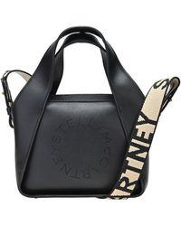 Stella McCartney - Mini Logo Shoulder Bag - Lyst