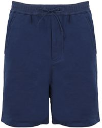 Y-3 Classic Drawstring Waist Shorts - Blue