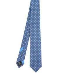 Ermenegildo Zegna Patterned Tie - Blue