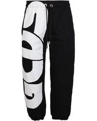 Gcds Macro Logo Pants - Black