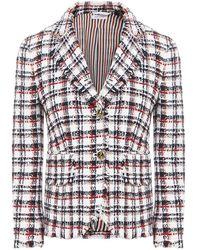 Thom Browne Tweed Blazer - Multicolor