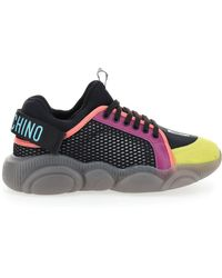 Moschino - Teddy Logo Tape Sneakers - Lyst