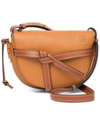 Loewe Gate Small Crossbody Bag - Brown