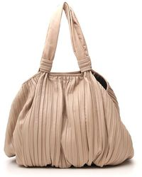 053d7c6d1 Max Mara Mini Ginevra Leather Bag in Orange - Lyst