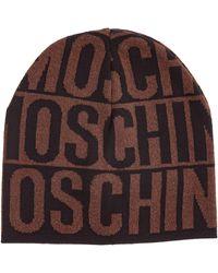 Moschino Women's Beanie Hat - Brown