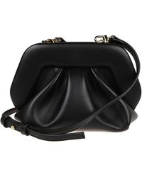 THEMOIRÈ Bios Strapped Mini Clutch Bag - Black