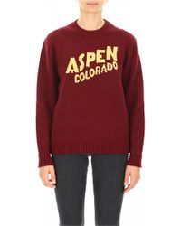 Moncler - Aspen Cashmere And Wool Jumper - Lyst