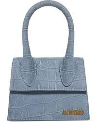 Jacquemus Le Chiquito Moyen Tote Bag - Blue