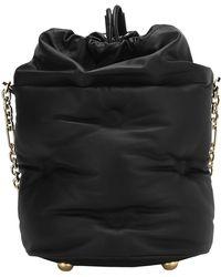 Maison Margiela Glam Slam Bucket Bag - Black