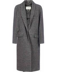 Étoile Isabel Marant Henol Oversized Coat - Gray