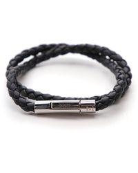 Tod's My Colours Woven Bracelet - Black