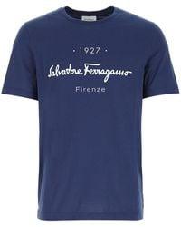 Ferragamo - 1927 Signature T-shirt - Lyst