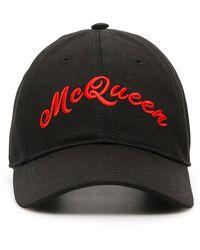 Alexander McQueen Hats Black