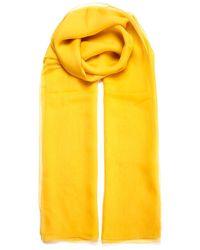 Max Mara Rivera Scarf - Yellow