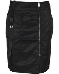 1017 ALYX 9SM Buckled Zipped Skirt - Black