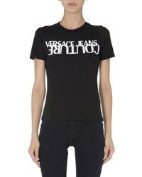 Versace Jeans Couture Crew Neck T-shirt - Black