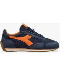 Diadora Diaodora Paneled Low-top Sneakers - Blue