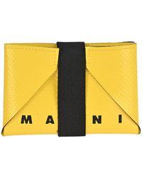Marni Two-toned Origami Wallet - Multicolor