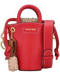 See By Chloé Cecilya Mini Tote Bag - Red