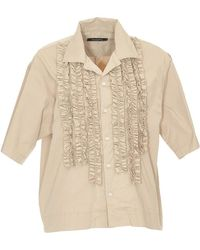 DSquared² - Ruffled Shirt - Lyst
