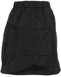 Max Mara Front Pocket Skirt - Black