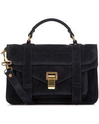 Proenza Schouler Ps1 Tiny Shoulder Bag - Blue