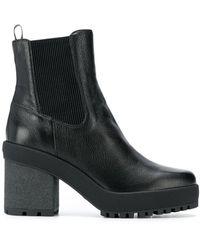 Hogan - Block Heel Boots - Lyst