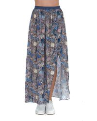 Zadig & Voltaire - Floral Print Skirt - Lyst