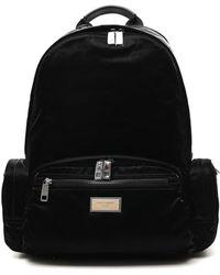 Dolce & Gabbana - Logo Plaque Backpack - Lyst