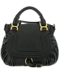 Chloé Fringed Crossbody Bag - Black
