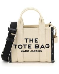 Marc Jacobs The Jacquard Traveler Tote Bag Mini - Multicolor