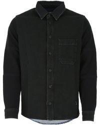 Off-White c/o Virgil Abloh Arrow Denim Shirt - Black