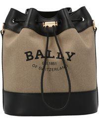 Bally Cleoh Bucket Bag - Natural