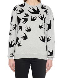 McQ Swallow Sweatshirt - Gray