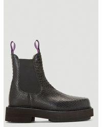 Eytys Ortega Embossed Boots - Black