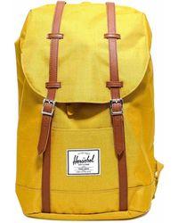 Herschel Supply Co. Retreat Foldover Backpack - Yellow