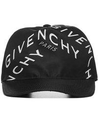 Givenchy Refracted Baseball Cap - Black