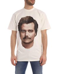 ih nom uh nit Pablo Print T-shirt - White